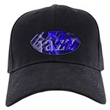 Jazz Black and Blue Baseball Hat