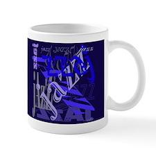Jazz Black and Blue Mug