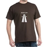 Road to Serfdom Highway T-Shirt