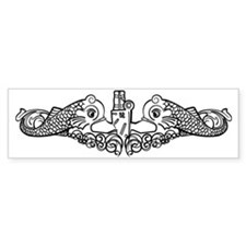 Navy Submariner Bumper Sticker