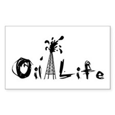 Oil Life Decal