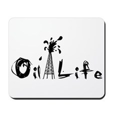 Oil Life Mousepad
