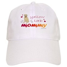 yellow lab Baseball Cap