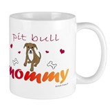pit bull Small Mugs