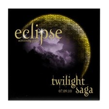 ECECLIPSEUS Eclipse gear Tile Coaster