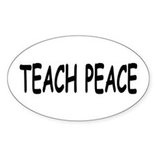Decal TEACH PEACE