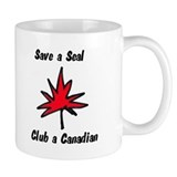Save a seal, club a Canadian Coffee Mug