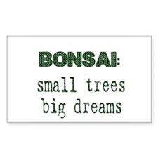 Unique Bonsai tree Decal