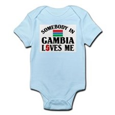 Somebody In Gambia Infant Creeper
