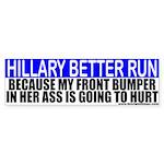 Hillary Clinton 2008 Bumper Sticker