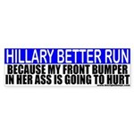 Hillary Clinton 2008 Bumper Sticker