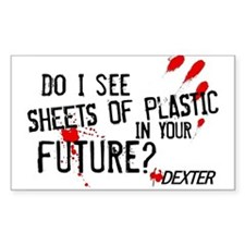 Bloody Sheets of Plastic Stickers