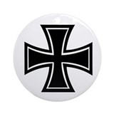 Iron Cross Ornament (Round)