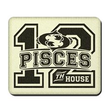 Pisces Twelfth House Mousepad