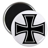 "Iron Cross 2.25"" Magnet (100 pack)"