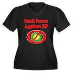 Small People against BP Women's Plus Size V-Neck D