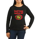 Small People against BP Women's Long Sleeve Dark T
