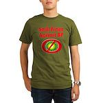 Small People against BP Organic Men's T-Shirt (dar