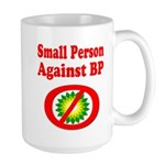 Small People against BP Large Mug