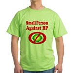 Small People against BP Green T-Shirt