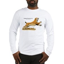 Saber-Tooth Cat Long Sleeve T-Shirt