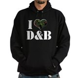 I Heart Drum & Bass Hoody