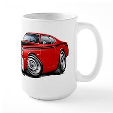 Duster 340 Red Car Mug
