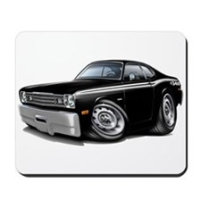 Duster 340 Black Car Mousepad
