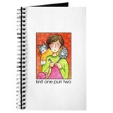 IN STITCHES No.7...Knitter's Journal or Blank Book
