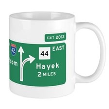 Road to Serfdom: Junction Small Mug