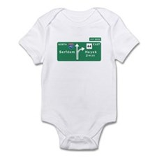 Road to Serfdom: Junction Infant Bodysuit
