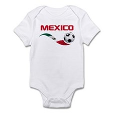 Soccer MEXICO Infant Bodysuit