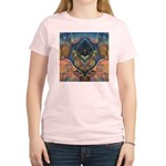 African Heart Women's Pink T-Shirt