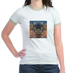 African Heart Jr. Ringer T-Shirt