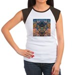 African Heart Women's Cap Sleeve T-Shirt