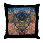 African Heart Throw Pillow