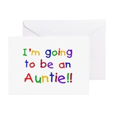 Going to be an Auntie Greeting Cards (Pk of 20)