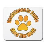 Obey The Wolf Mousepad