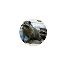 Racoon Buddies Mini Button (100 pack)