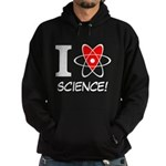i heart science Hoodie (dark)