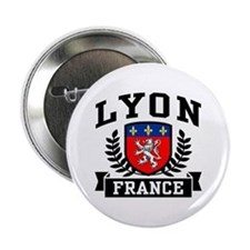 "Lyon France 2.25"" Button"