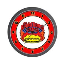 Rapid Transit System - Plymouth Wall Clock