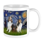 Starry / Two Shelties (D&L) Mug