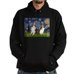 Starry / Two Shelties (D&L) Hoodie (dark)