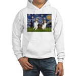 Starry / Two Shelties (D&L) Hooded Sweatshirt