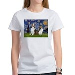 Starry / Two Shelties (D&L) Women's T-Shirt