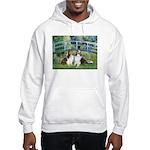 Bridge / Two Shelties (D&L) Hooded Sweatshirt