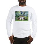 Bridge / Two Shelties (D&L) Long Sleeve T-Shirt