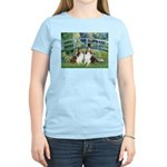 Bridge / Two Shelties (D&L) Women's Light T-Shirt
