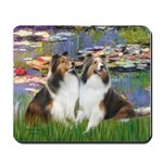 Lilies #2 / Two Shelties Mousepad